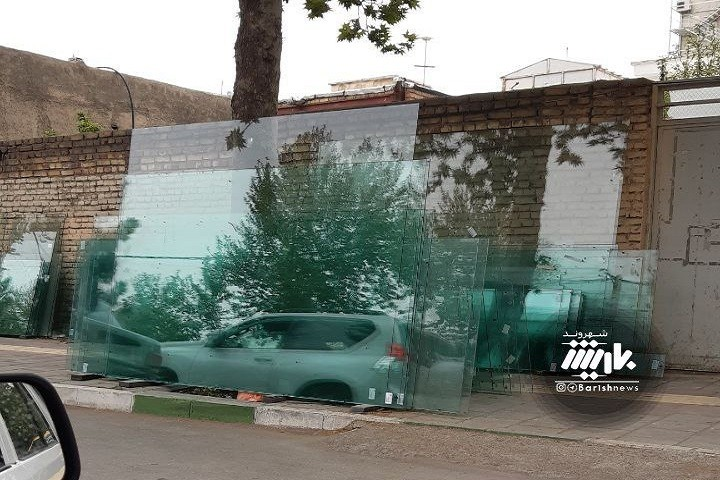 سعد معبر خطرناک در خیابان مافی..