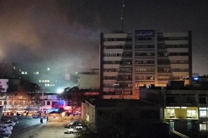 آتش سوزی در خیابان دانش / الماس غرب
