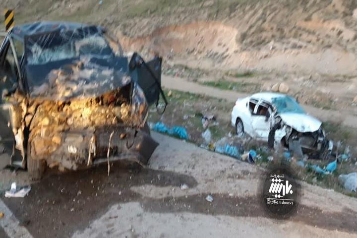 تصادف در جاده ارومیه سلماس