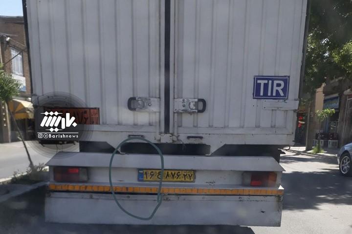 دستکاری پلاک خودرو که باعث جریمه شدن ماشین های دیگران می شود