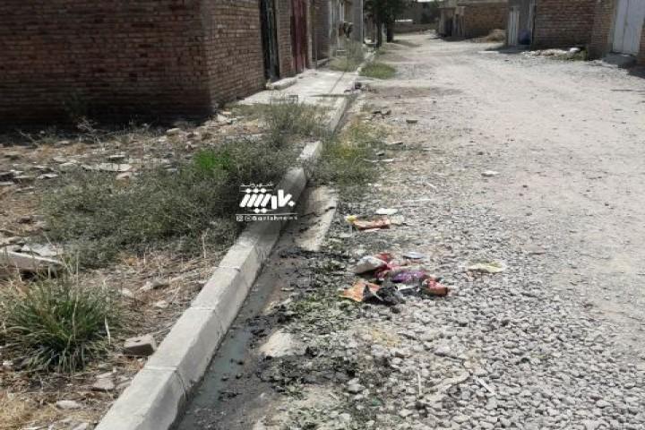 گلایه شهروندان از وضعیت نامناسب کوچه های کشتارگاه