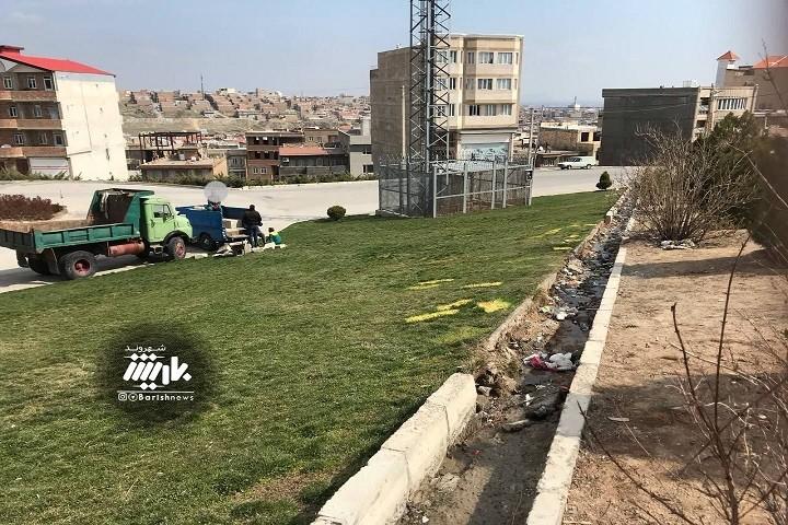 وضعیت فضای سبز شهرک سپاه و خواسته مردم از مسوئولین برای رسیدگی به فضای سبز این منطقه می باشد