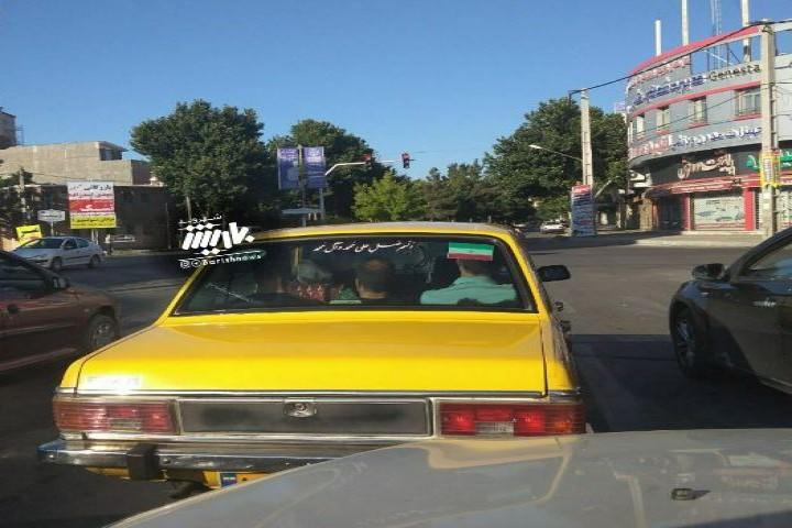 عدم رعایت فاصله اجتماعی در وسیله حمل و نقل عمومی