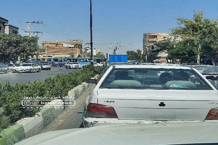 قطعی برق باعث ترافیک در خیابان ها و چهارراه ها شده است