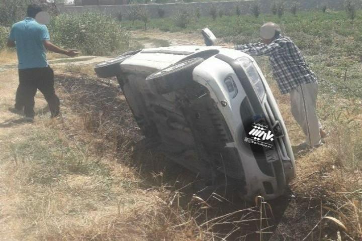 تصادف شدید در روستای چنقرالوی یکان