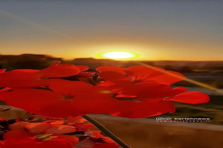 آرامش / غروب زیبای خورشید
