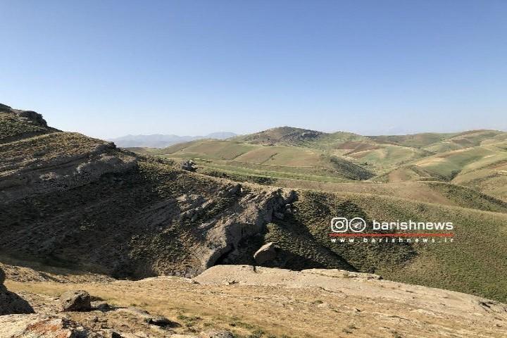 ارتفاعات کله خان / روستای شاملکان