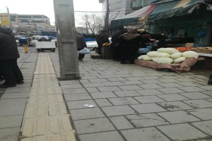 اوضاع خیابان عطایی درمقابل ویروس کرونا