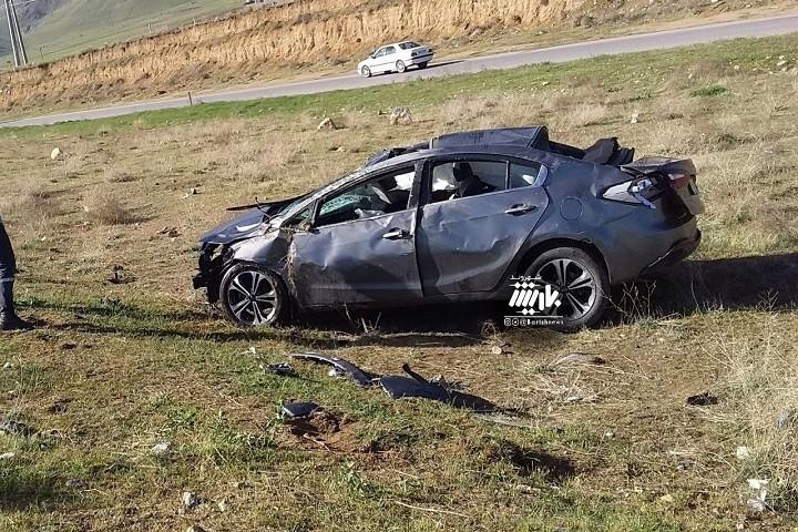 تصادف در جاده سلماس
