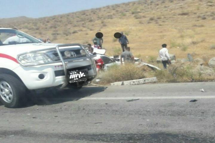 تصادف در جاده ارومیه به تبریز