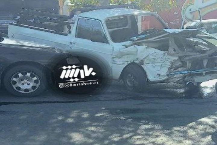 تصادف شدید در شیخ شلتوت