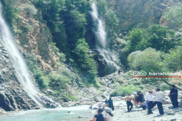 آبشار کانی لوسه پیرانشهر