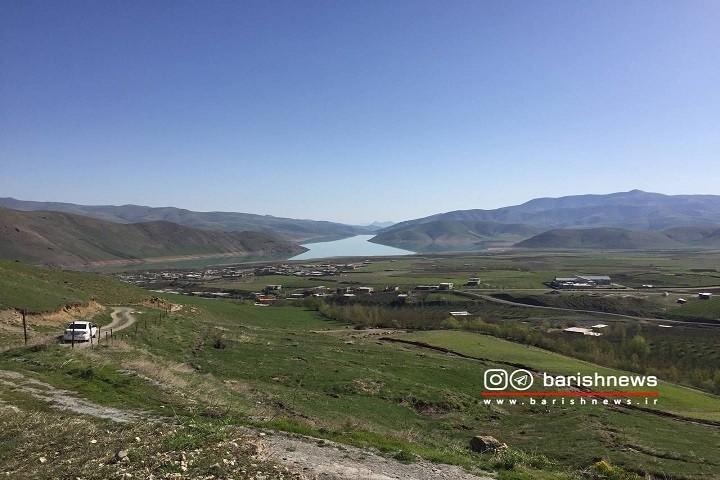 چشم اندازی زیبا از طبیعت ارومیه