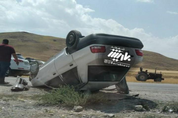 تصادف شدید در محور نقده پیرانشهر