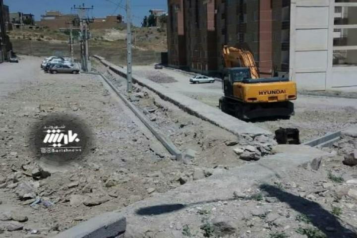 وضعیت مسکن مهرهای شهرک ولیعصر