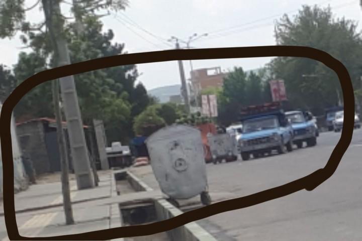 سد معبر در اول جاده سرو