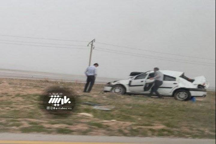 تصادف در جاده مهاباد