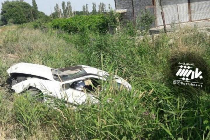 حادثه رانندگی در جاده سنتو