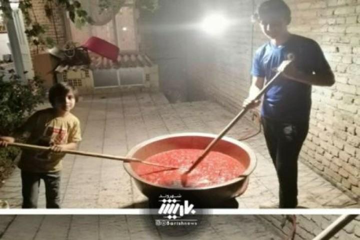 پخت رب خانگی در ارومیه