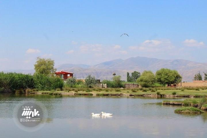 آبگیر روستای قوروق معروف به یاتاخ