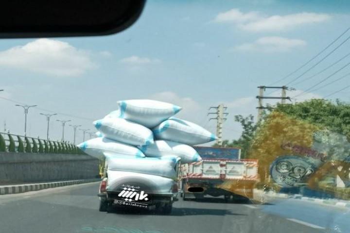 حمل بار خطرناک توسط شهروند
