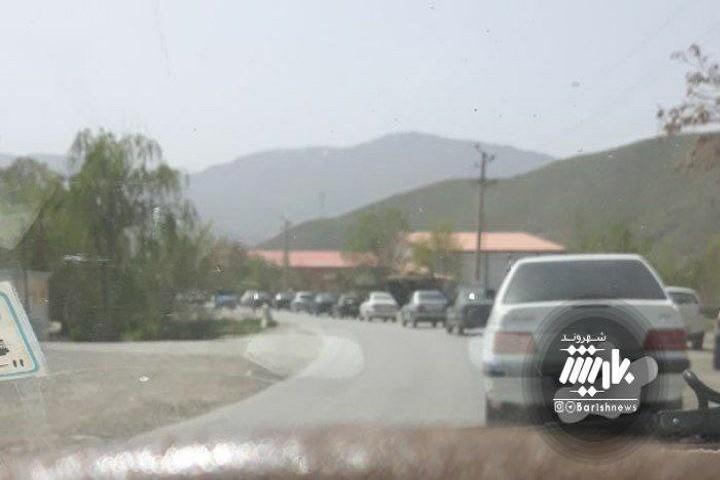 ترافیک در دره شهدا