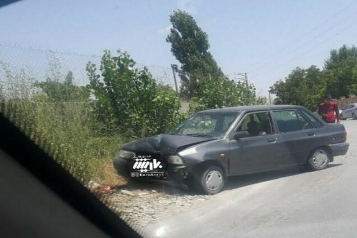 تصادف در جاده امامزاده