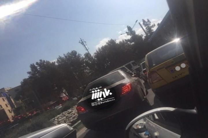 ترافیک در میدان امام حسین