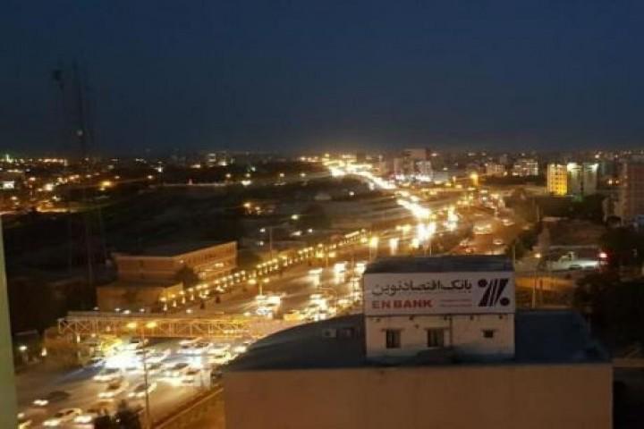 نمای زیبای شهر ارومیه