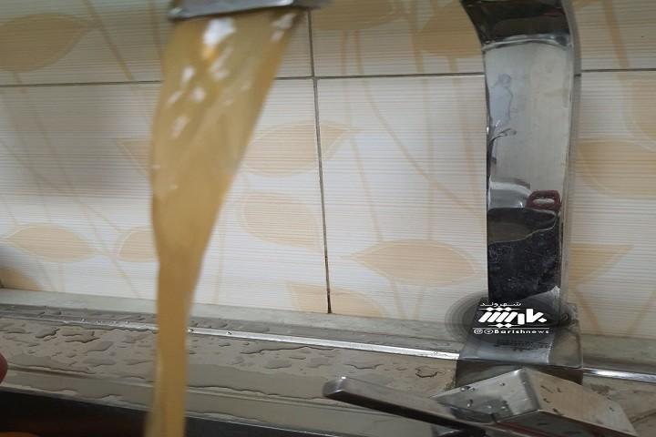 وضعیت آب امروز در خیابان استادان و گلایه شهروندان از این وضعیت