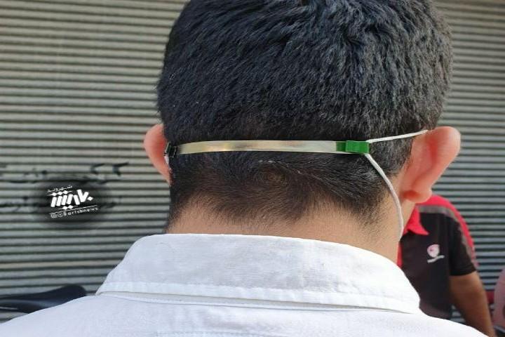 روش جدید استفاده از ماسک برای اذیت نشدن پشت گوش