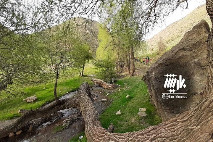 طبیعت زیبای دره دولاما