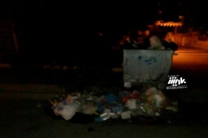 گلایه شهروندان از وضعیت پسماند در کوی طالب
