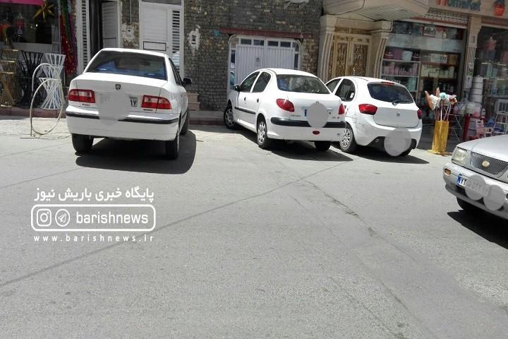 گلایه شهروندان از سد معبرهای خیابان سعدی / بوستان