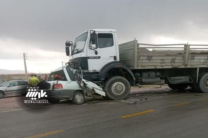 تصادف در جاده اصالو_سپرغان با یک فوتی