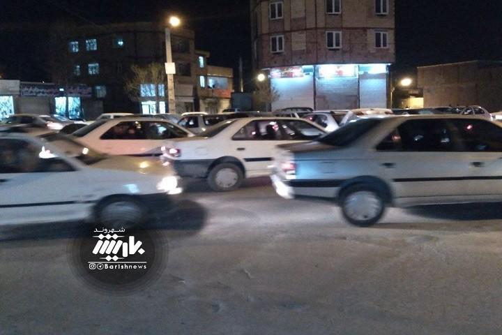ترافیک همه روزه خیابان حکیم نظامی و گلایه مردم از این وضعیت