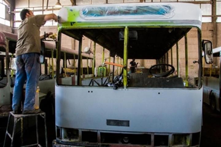 بازسازی 100 دستگاه اتوبوس شهری در ارومیه