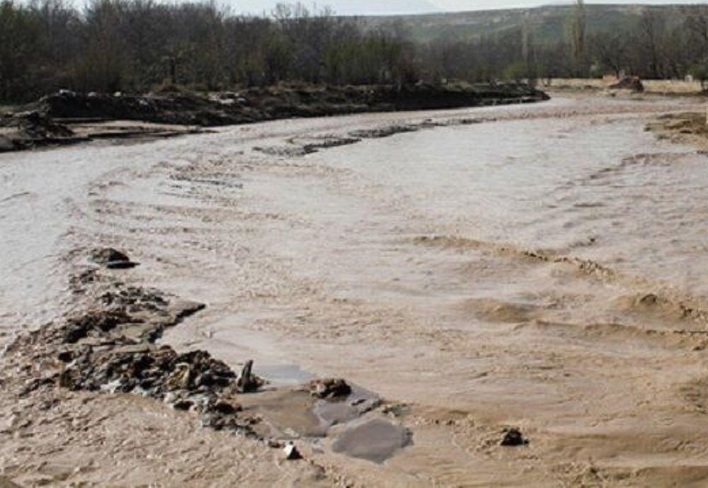 روستاهای سلماس درگیر سیلاب/5 نفر مصدوم شدند