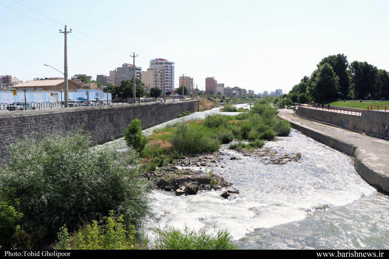 سیل تهدید جدی برای رودخانه شهر چای ارومیه