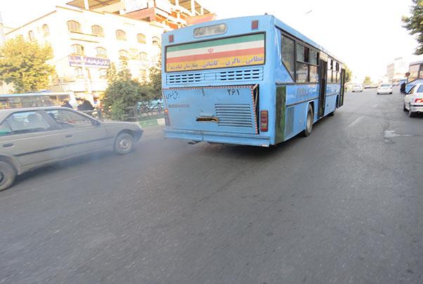 اتوبوسهای فرسوده ارومیه در انتظار ساماندهی