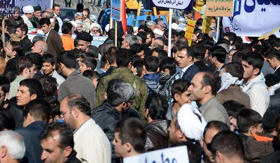 مسیرهای راهپیمایی 13 آبان در ارومیه اعلام شد