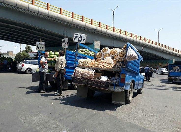 نظم شهری، ثمره ساماندهی میوهفروشان سیار در ارومیه