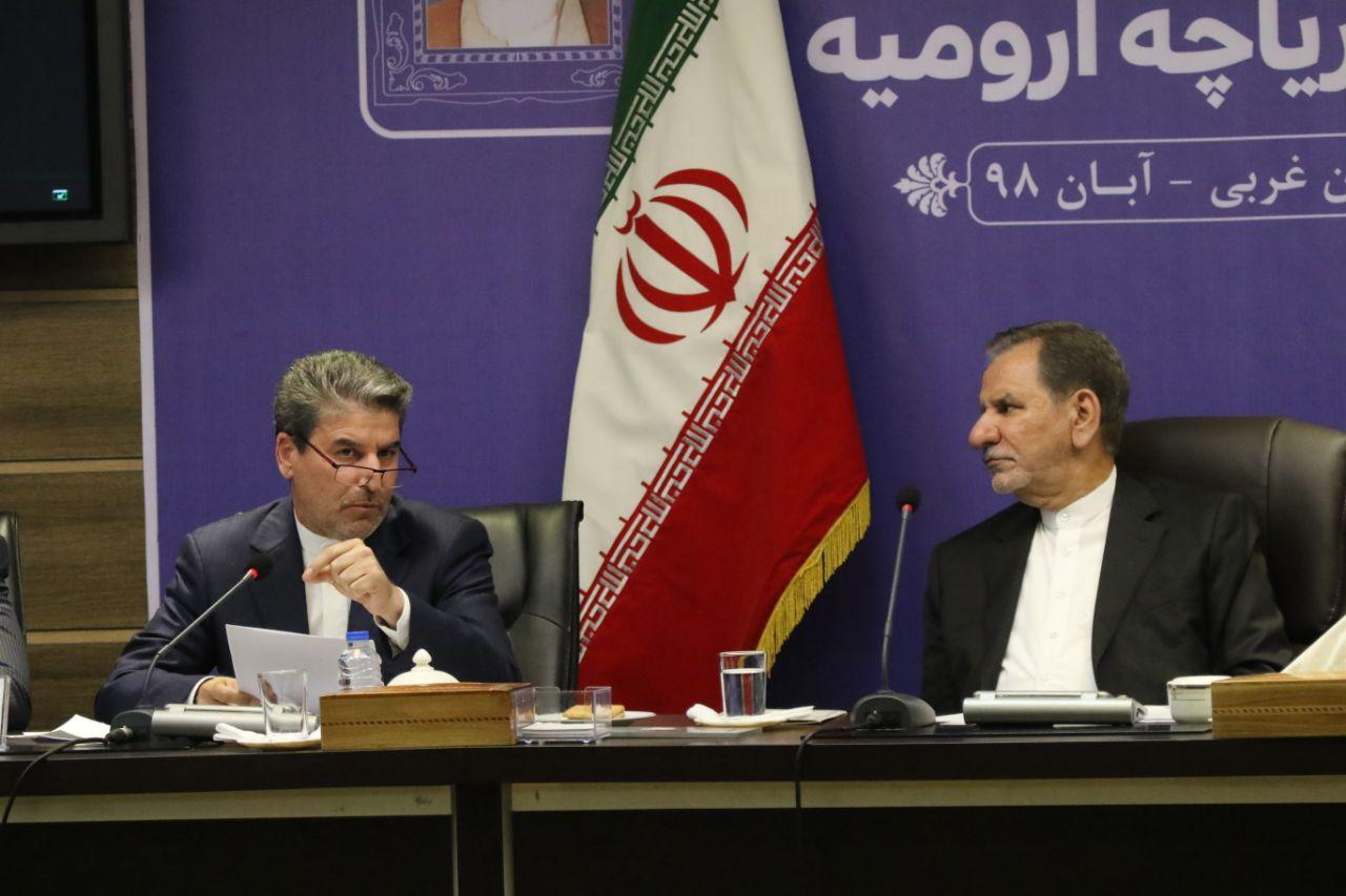 جلسه کارگروه ملی نجات دریاچه ارومیه برگزار شد