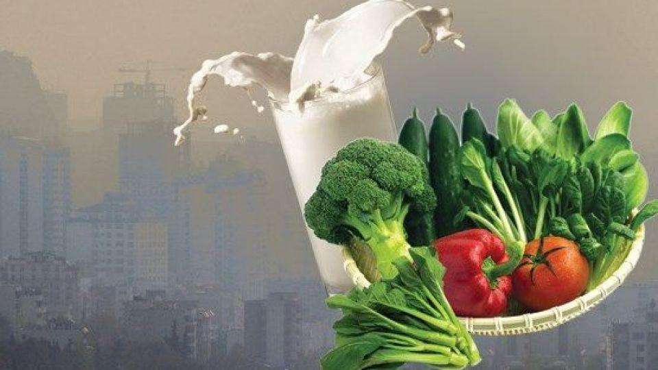 ایمنسازی بدن در برابر آلایندهها با تغذیه مناسب