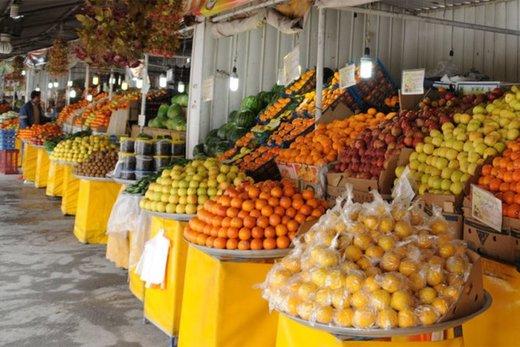 آغاز عرضه میوه شب یلدا در بازار ارومیه