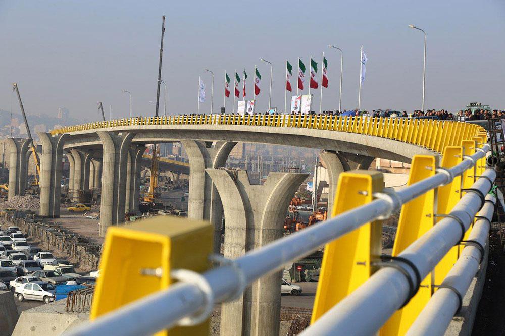 پل B3 غیرهمسطح آذربایجان تا پایان سال به بهرهداری میرسد