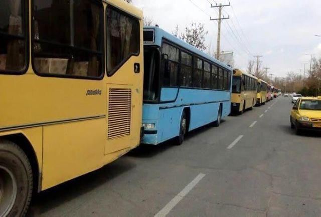 49 دستگاه اتوبوس شهری ملکی در انتظار بهسازی