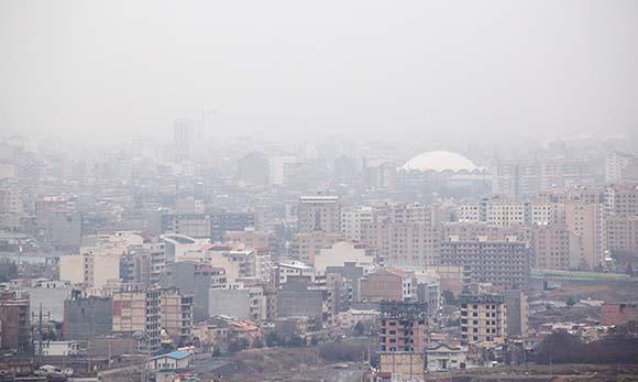 احتمال گذر شاخص کیفیت هوای ارومیه از مرز استاندارد