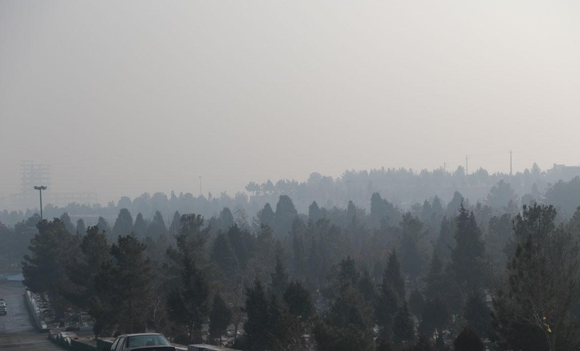آلودگی همچنان مهمان ارومیه است