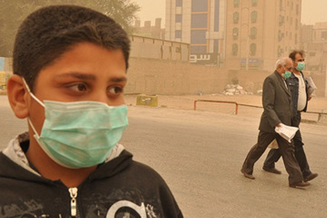 آمار دقیقی از مراجعین به مراکز درمانی در روزهای آلوده وجود ندارد